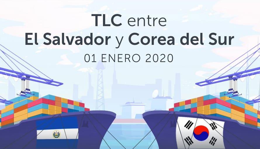 TLC El Salvador – Corea del Sur entrará en vigencia el 1 de enero de 2020