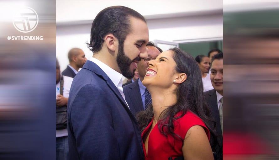 Nayib compartió el amor que siente por Gabriela con los salvadoreños