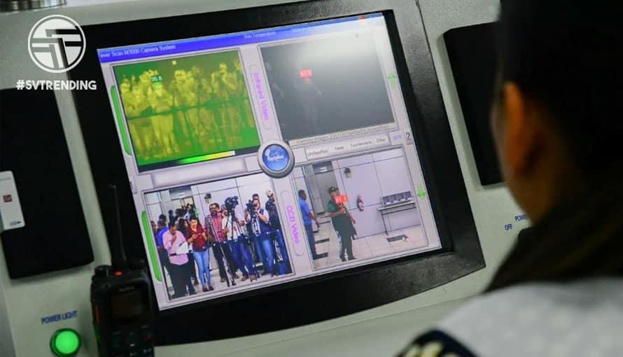 Cámara térmica ya está funcionando en el Aeropuerto Internacional por el coronavirus