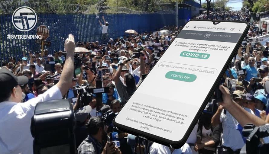 Walter Araujo les pide paciencia a los salvadoreños para el subsidio de $300