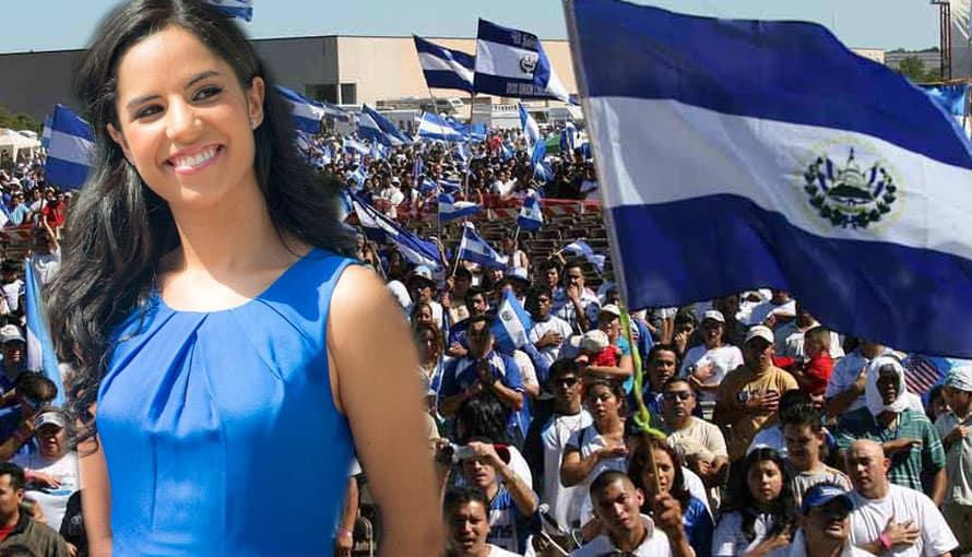 Salvadoreños le desean un feliz cumpleaños a Gabriela de Bukele