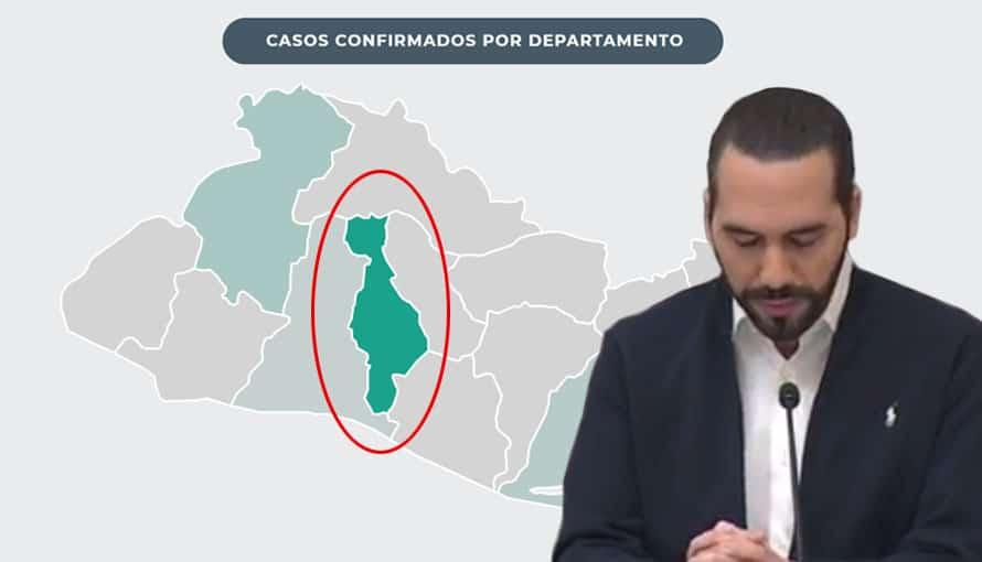 San Salvador es el nuevo epicentro del COVID-19 en El Salvador