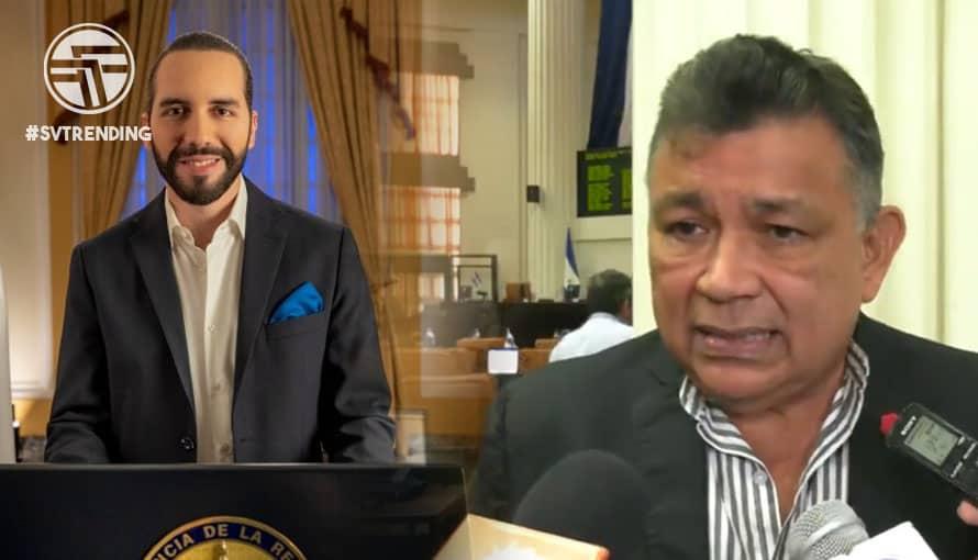 VIDEO: Diputado nicaragüense dirige comentarios xenófobos y llama loco al Presidente Bukele