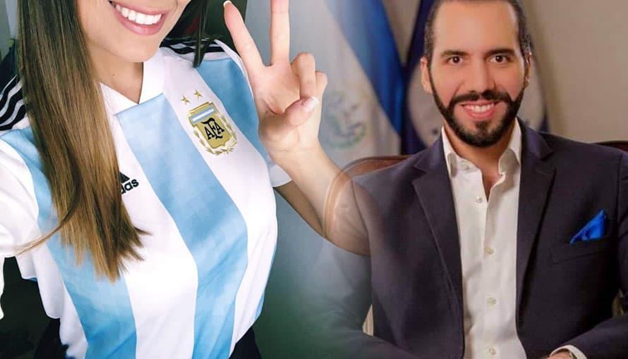 Ciudadana argentina aseguró que Nayib Bukele es el mejor presidente del mundo