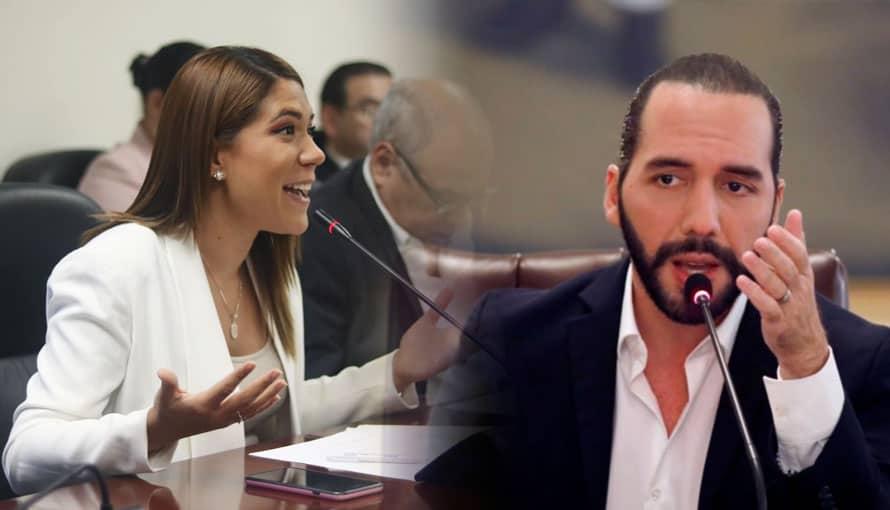 VIDEO: Diputada de ARENA dice que no harán lo que se le antoja al presidente Nayib Bukele