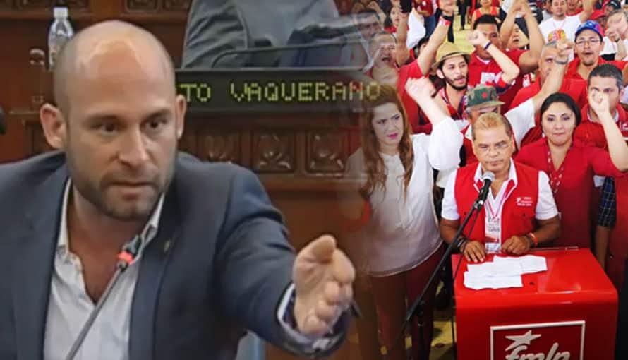 VIDEO: Diputado Ricardo Velásquez Parker dice que se siente representado por el FMLN