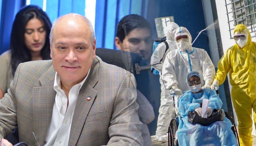 VIDEO: Diputado Rodrigo Ávila dice que es una simple gripe el COVID-19 y la gente tiene que trabajar de inmediato