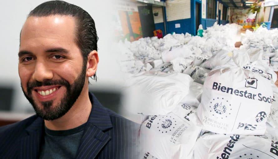 Presidente Bukele afirma que ninguna familia salvadoreña se quedará sin alimentos en la cuarentena