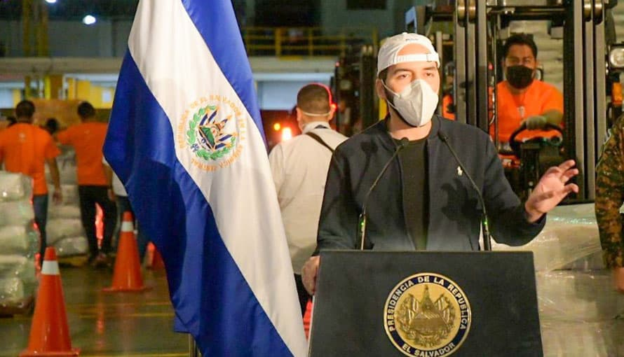 Presidente Bukele invita a los salvadoreños a sintonizar la conferencia de prensa a las 8:30 pm de hoy