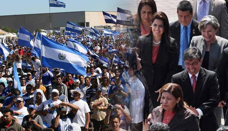 Salvadoreños solicitan firmas para disolver la Asamblea Legislativa por bloqueo al gobierno de Bukele