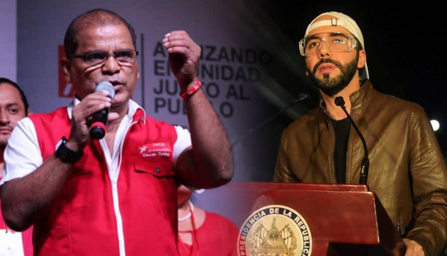 Óscar Ortiz compara a Nayib Bukele con Bad Bunny además dice que es un rapero