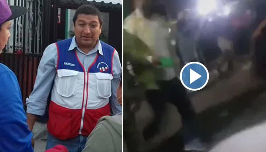VIDEO: Alcalde de Soyapango manda a disparar a sindicalista que protestaba contra la privatización del aseo
