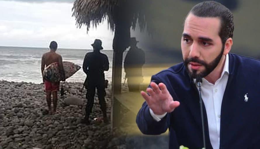 Presidente Bukele pide con el corazón en la mano a los salvadoreños quedarse en casa durante vacaciones