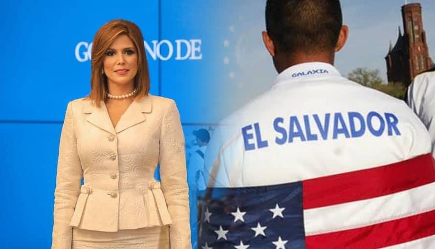 Diáspora salvadoreña ya espera con los brazos abiertos a Milena Mayorga en EE.UU.