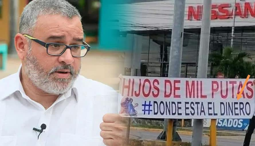 Mauricio Funes utilizó foto de Honduras para atacar al gobierno de Bukele
