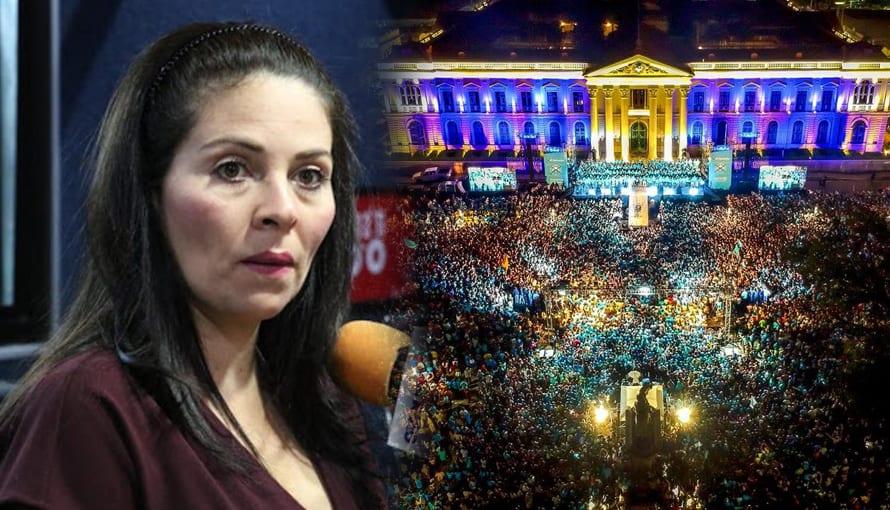 Candidata Bertha Deleón dice que no obtendrá un curul por victoria de Nuevas Ideas