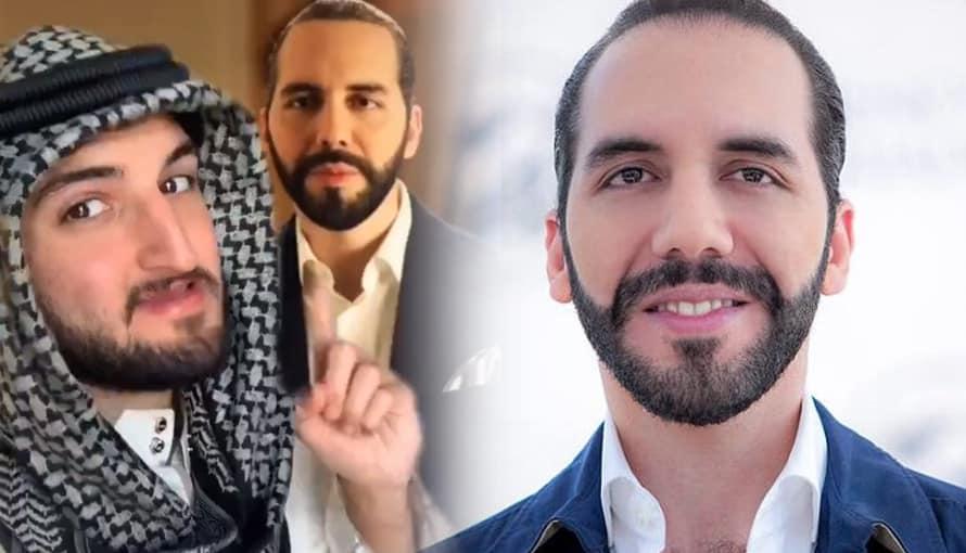 Joven árabe está feliz porque Nayib Bukele está cambiando el país