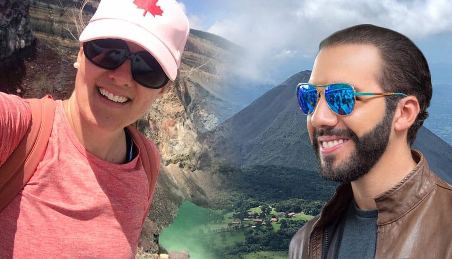Embajadora de Canadá se deleita con las bellezas naturales de El Salvador