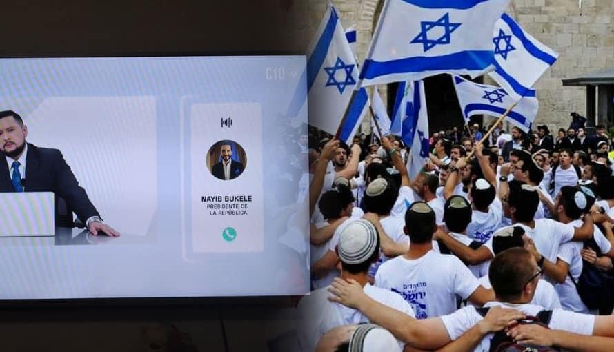 En Israel sintonizaron la participación del presidente Bukele en noticiero El Salvador