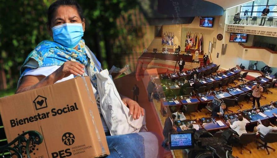 Diputados obligan al gobierno a poner en los paquetes alimenticios que son pagados por el pueblo