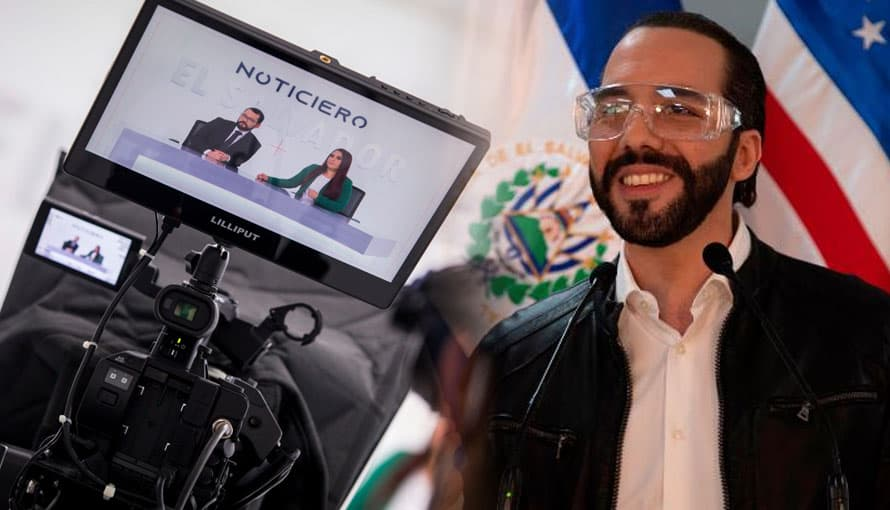 Hoy es el estreno del noticiero El Salvador y la población está ansiosa por verlo
