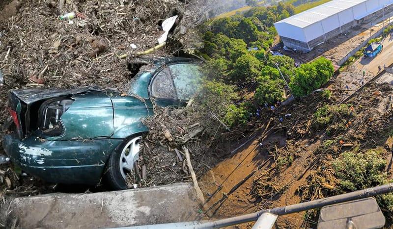 Filtran impactantes imágenes del deslave del caserío Los Angelitos II en Nejapa