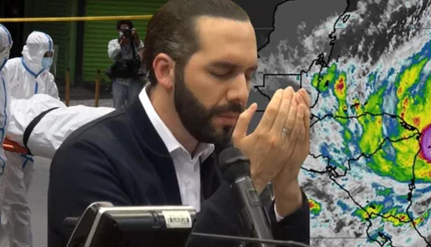 Dios está con El Salvador, el menos afectado por la pandemia y por el huracán ETA