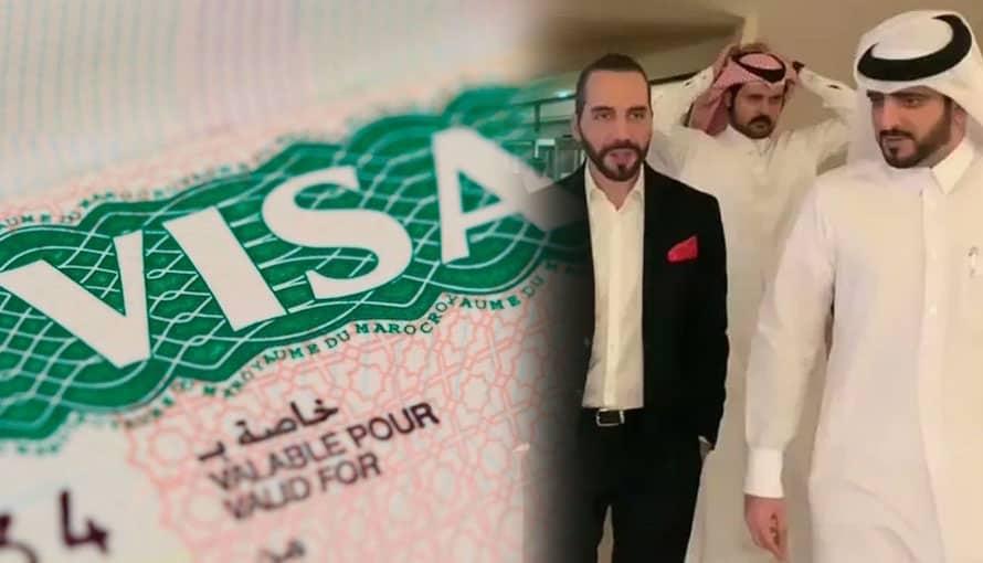 Gobierno de Bukele anuncia visas de trabajo a Qatar para el envío de salvadoreños