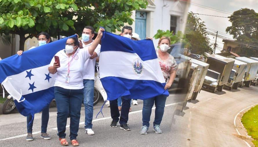 Hondureños confirman la entrega de alimentos a tiempo por parte del Gobierno de Bukele