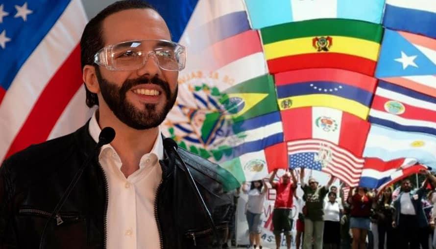 Latinos postulan a Nayib Bukele como Presidente de Latinoamérica
