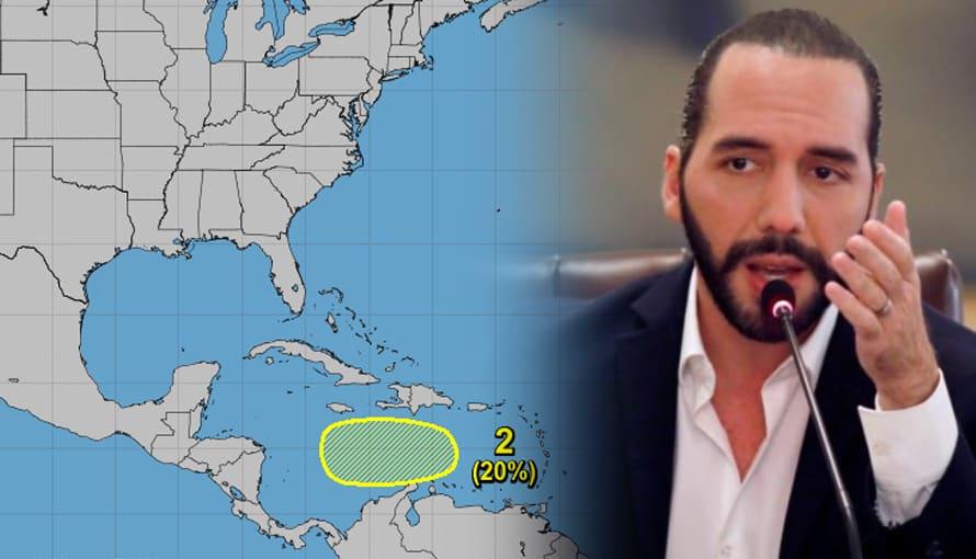 """Alertan a Centroamérica de un nuevo huracán llamado """"Theta"""" que se estaría formando en el mar caribe"""