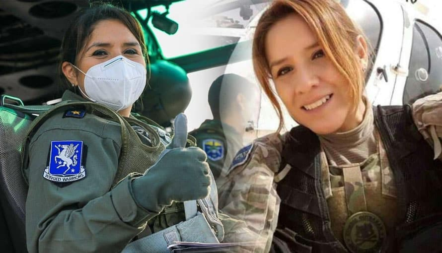 VIDEO: De esta forma reciben a aviadora salvadoreña que entregó ayuda Guatemala