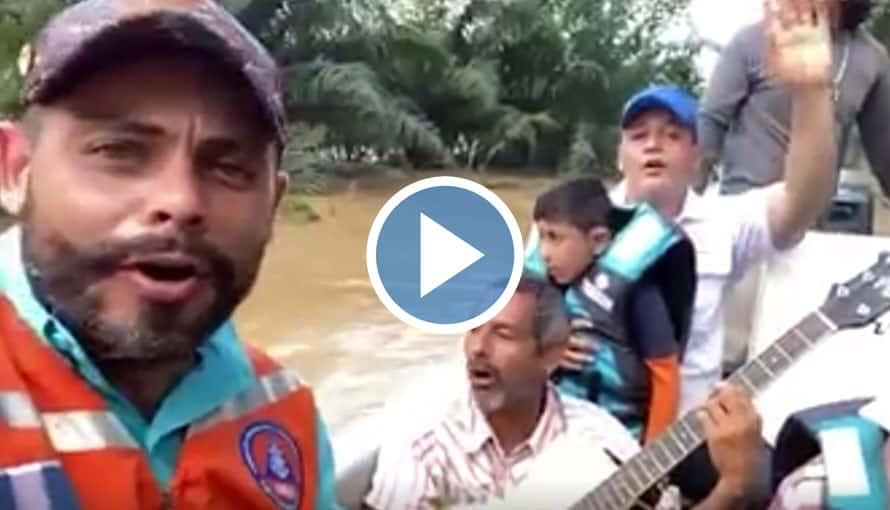VIDEO: Cantan alabanzas ante el rescate de una familia por inundaciones catastróficas en Guatemala