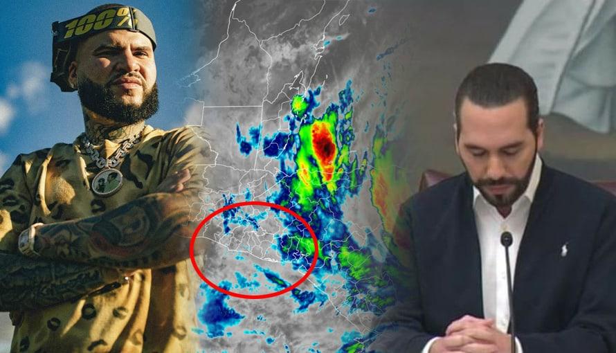 Farruko envía un mensaje de esperanza a El Salvador ante la llegada del huracán ETA