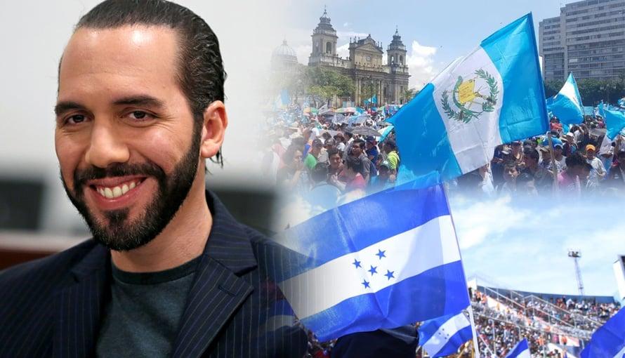 Hondureños y guatemaltecos agradecen al Presidente Bukele por el apoyo ante emergencia de ETA