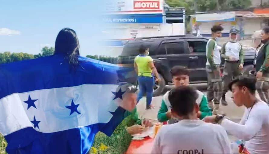 VIDEO: Así reciben los hondureños a los socorristas salvadoreños minutos antes de hacer labores de rescate
