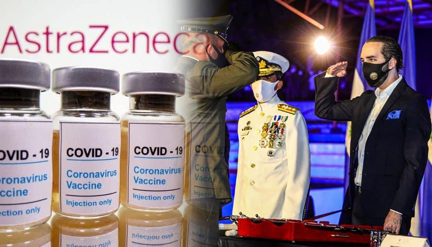 Salvadoreños agradecen que FAES se encargará de distribuir las vacunas contra el COVID-19 y no las alcaldías