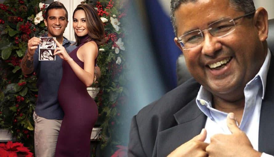 Hijo del expresidente Francisco Flores anuncia la llegada de su primer hijo con modelo salvadoreña