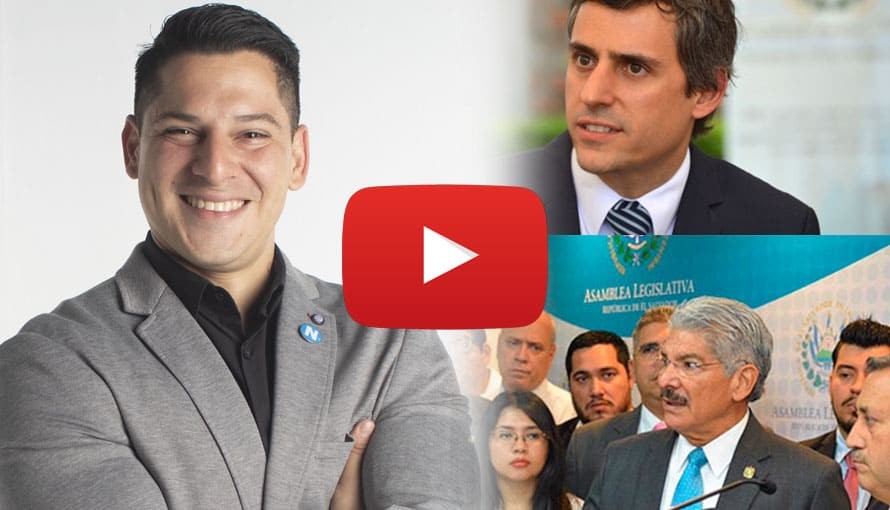 Candidato de Nuevas Ideas exige a ARENA y Carlos Calleja devolver lo robado