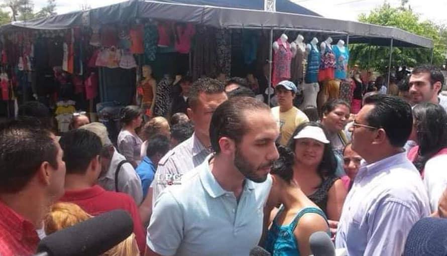 Salvadoreños catalogan al Presidente Nayib Bukele como amigo del pueblo