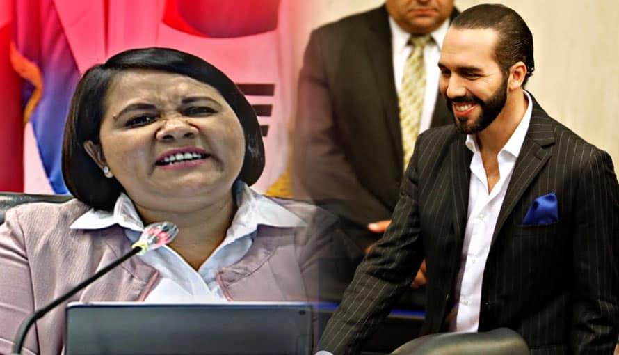 Cristina Cornejo culpa al Presidente Nayib Bukele de excluir a ARENAFRENTE y que el pueblo los odie