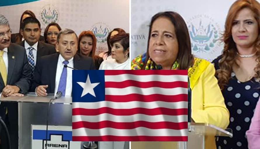 Diputados confunden la bandera Liberia con la de Estados Unidos para felicitar a Joe Biden