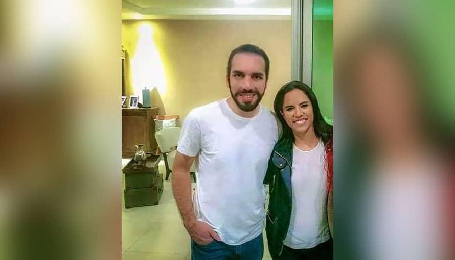 Filtran nueva fotografía inédita de Nayib y Gabriela cuando eran jóvenes