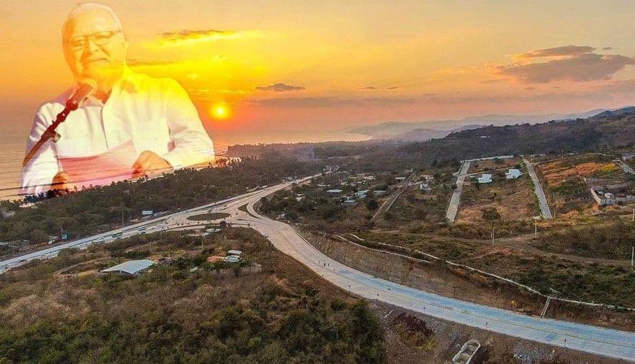 "FMLN se atribuye la obra del ByPass nombrada: ""Camino a SurfCity"""