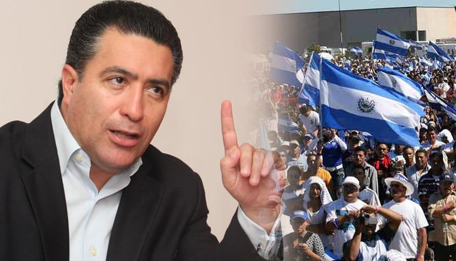 Portillo Cuadra comparte su último spot pidiendo a los salvadoreños no votar por él