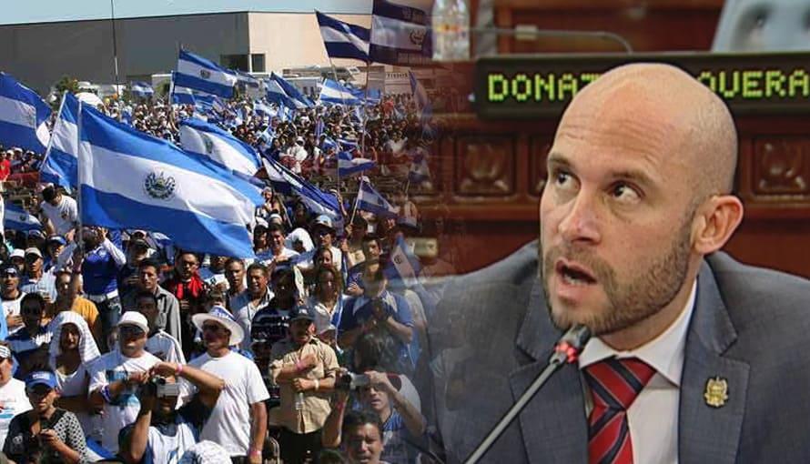Salvadoreños están felices de que Velásquez Parker no estará en la nueva Asamblea Legislativa