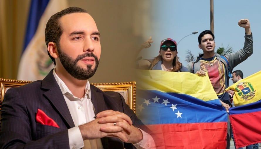 Cadena del Presidente Bukele llegó a Venezuela por su gran influencia en Latinoamérica
