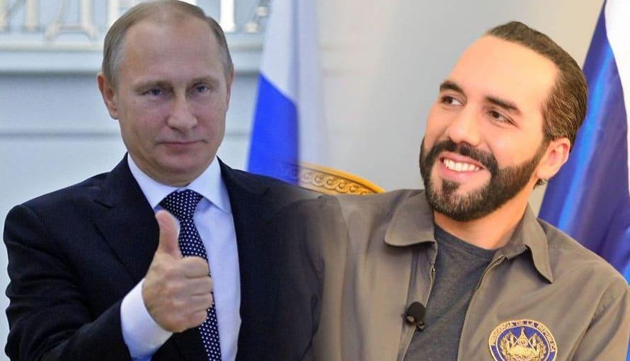 Rusia destaca el trabajo del Gobierno de Bukele en el combate a la corrupción