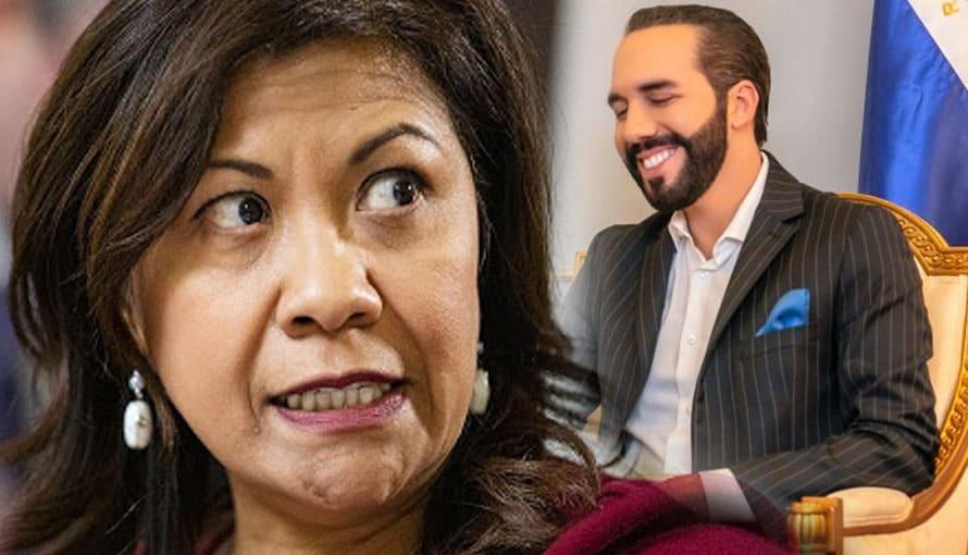 Norma Torres exigirá al Presidente Nayib Bukele devolver el poder al FMLN y ARENA