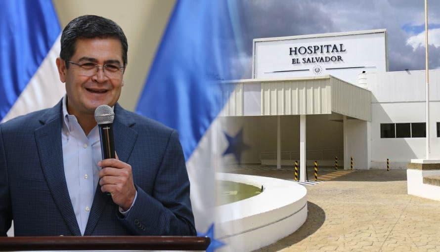 """Presidente de Honduras es fuertemente criticado por presumir """"un donativo"""" de medicinas a El Salvador"""